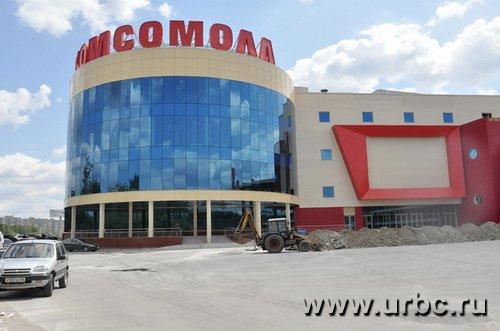 ТРК «КомсоМОЛЛ» встретил своих арендаторов пыльной стройплощадкой и пустыми залами