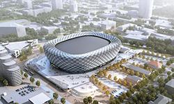 Изображение из презентации Ледовой арены для заседания Архитектурно-градостроительного совета при губернаторе Свердловской области